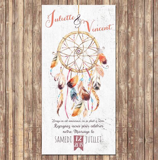 Collection de Faire Part et Invitaton Mariage chic et ...