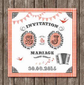 faire part mariage guinguette - Faire Part Mariage Guinguette
