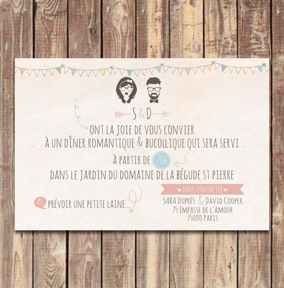 Optez pour un coupon dner chic champetre et bucolique vintage coupon diner mariage vintage bucolique pastel stopboris Gallery